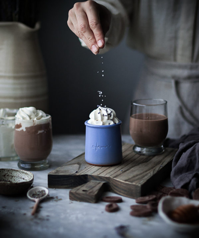 Hot chocolate lets get toasty