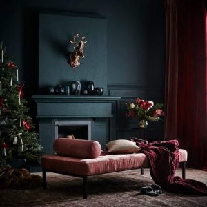 Velvets, christmas decor, deer head