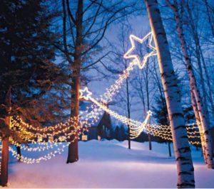 Christmas Lights, outdoors