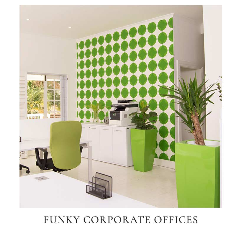 Funky Corporate Offices Interior Design by Interior Lane